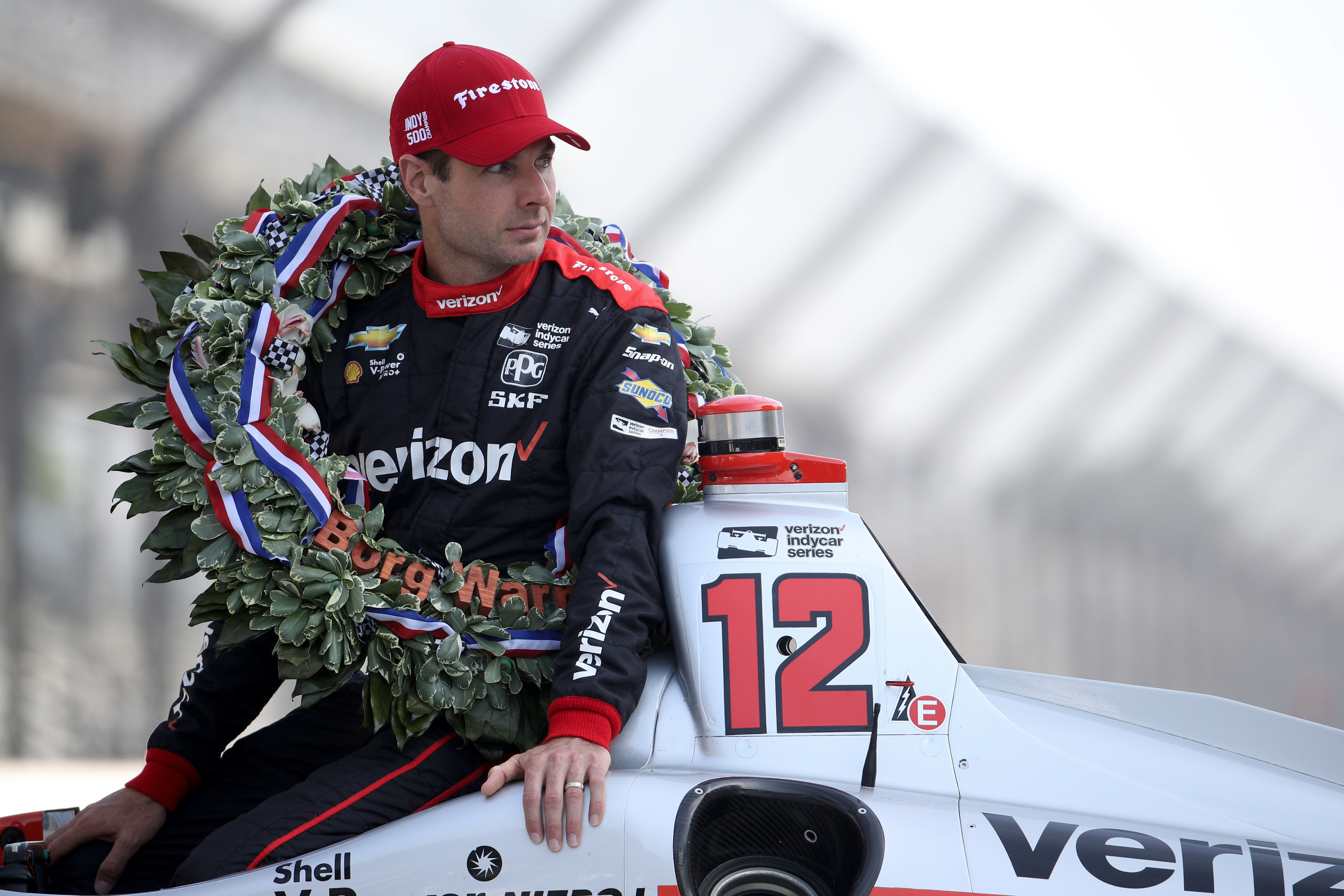 Will Power Chevrolet #12 Winner Indy 500 Champion Indycar Series 2018 Team Pensk