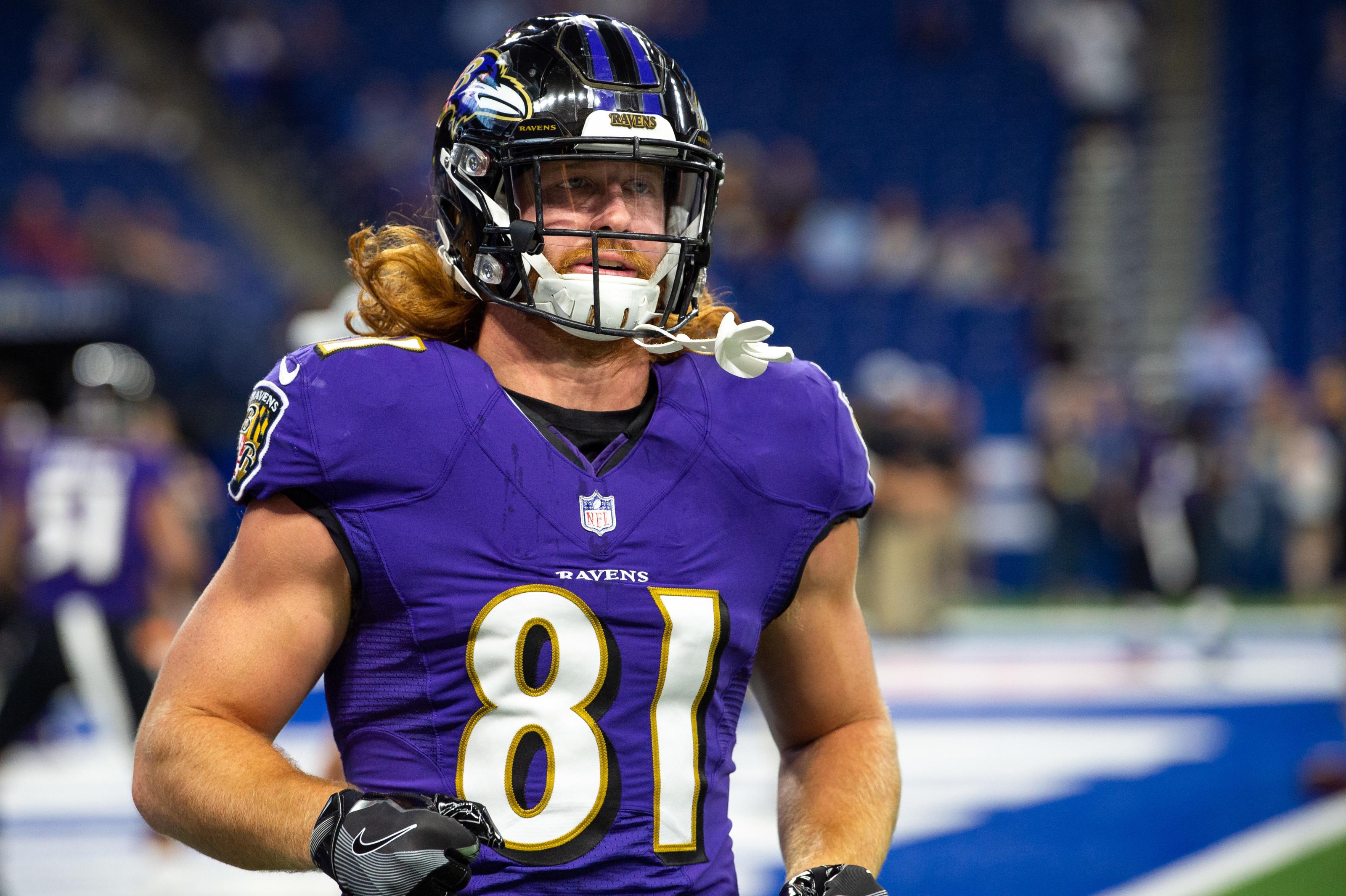 Baltimore Ravens lose a key weapon in Hayden Hurst