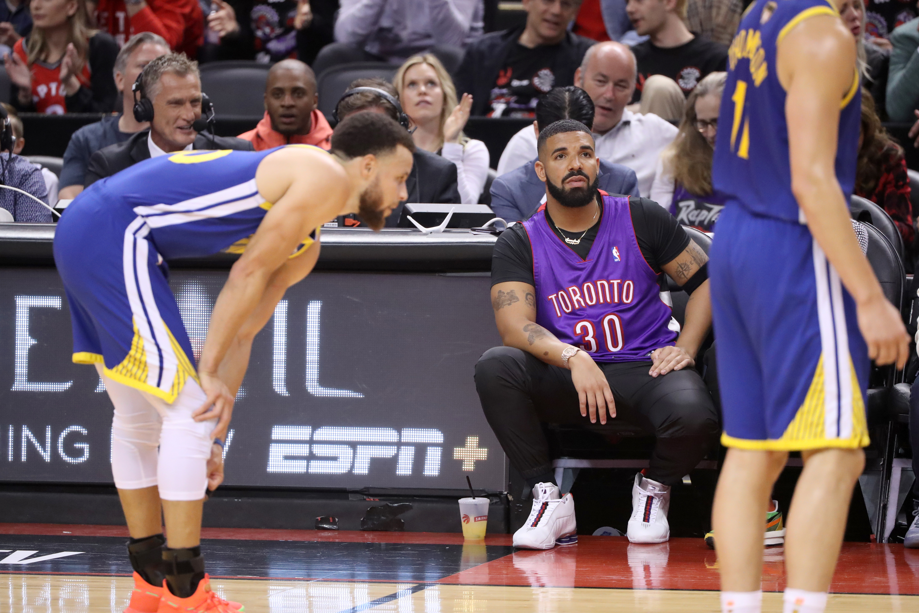 Drake Took His Troll Game To The Next Level Against Golden State Warriors