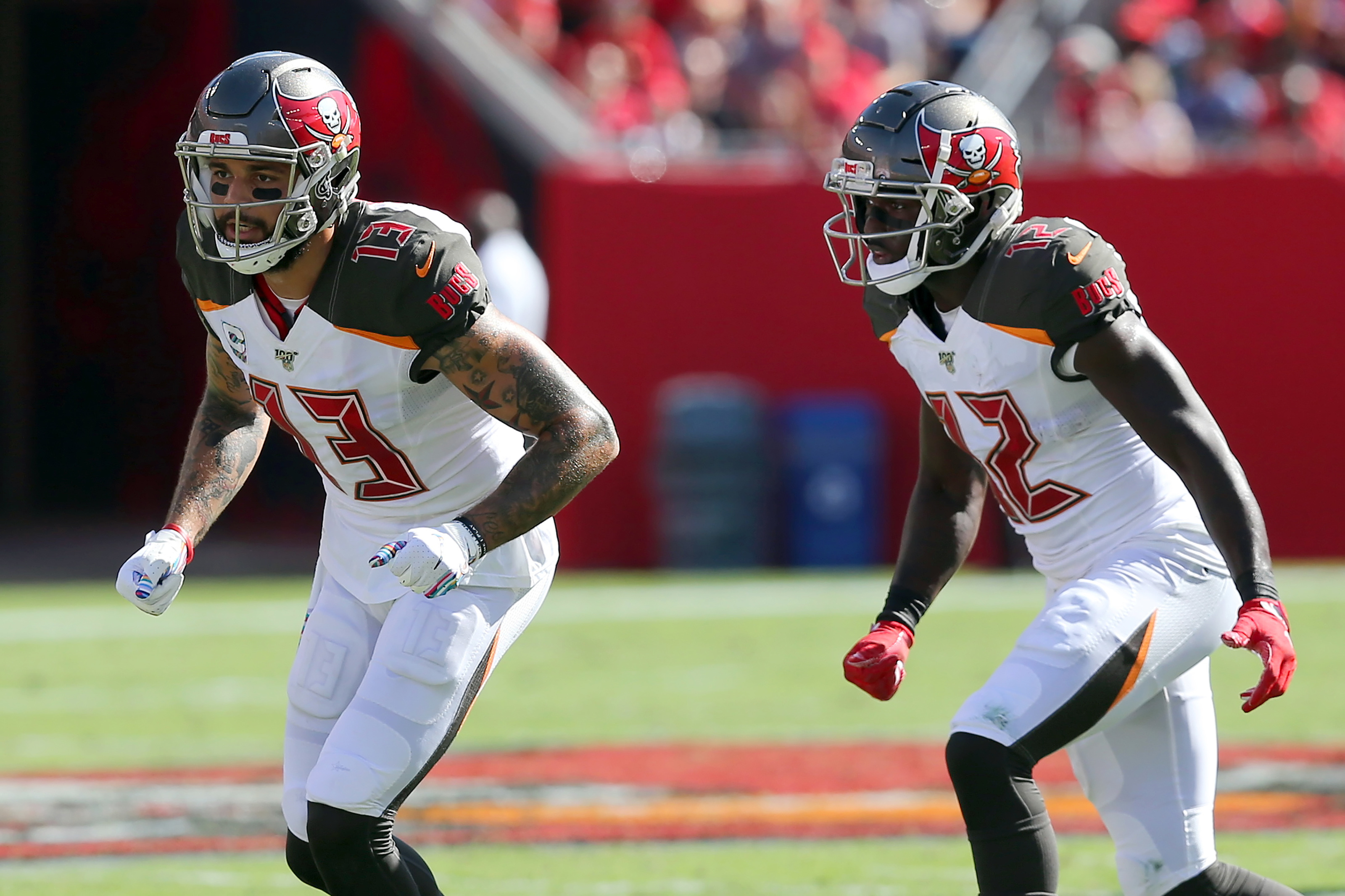 Off The Board First In Fantasy Mike Evans Or Chris Godwin