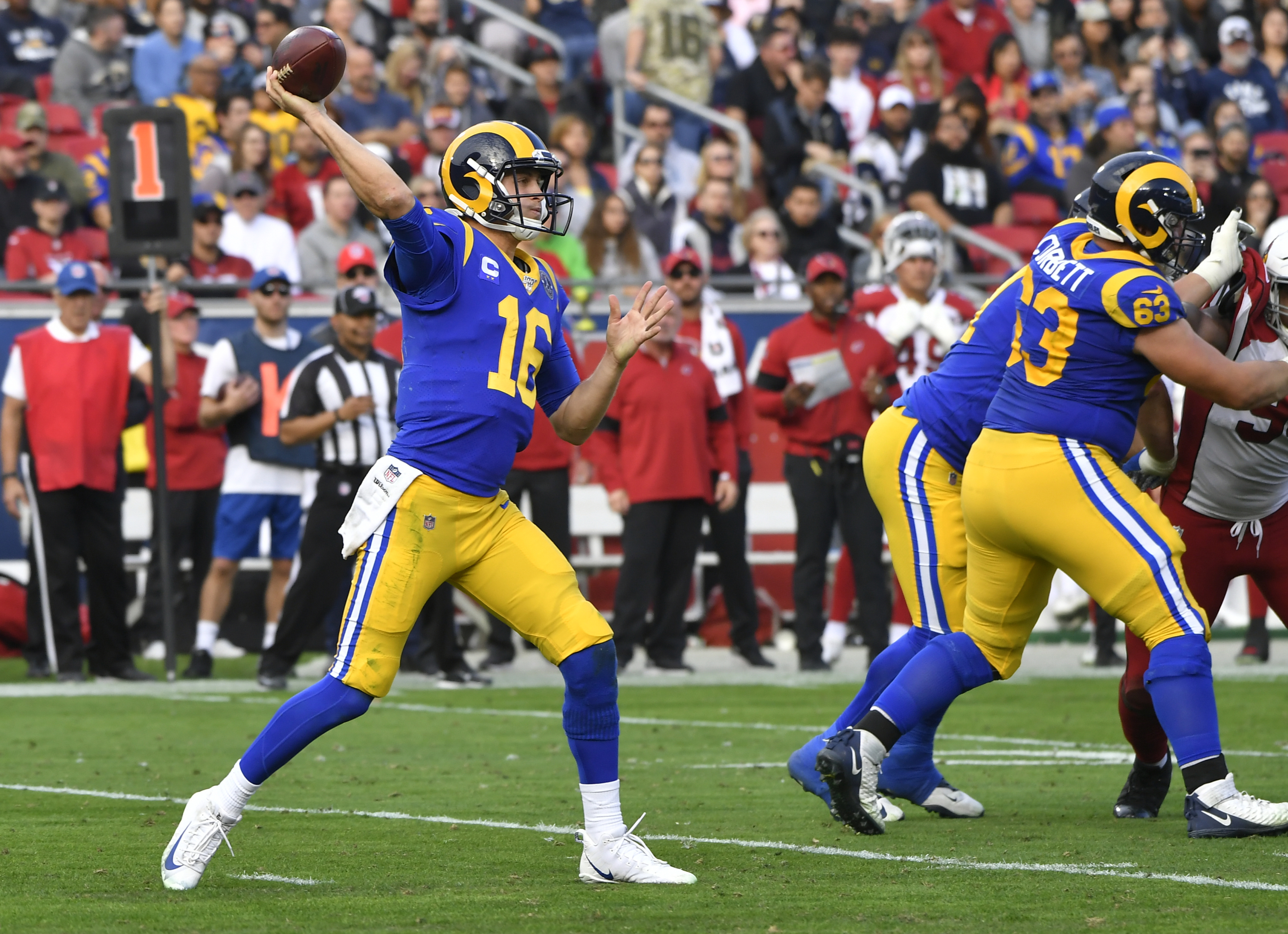 The Rams took a Super Bowl team and destroyed it