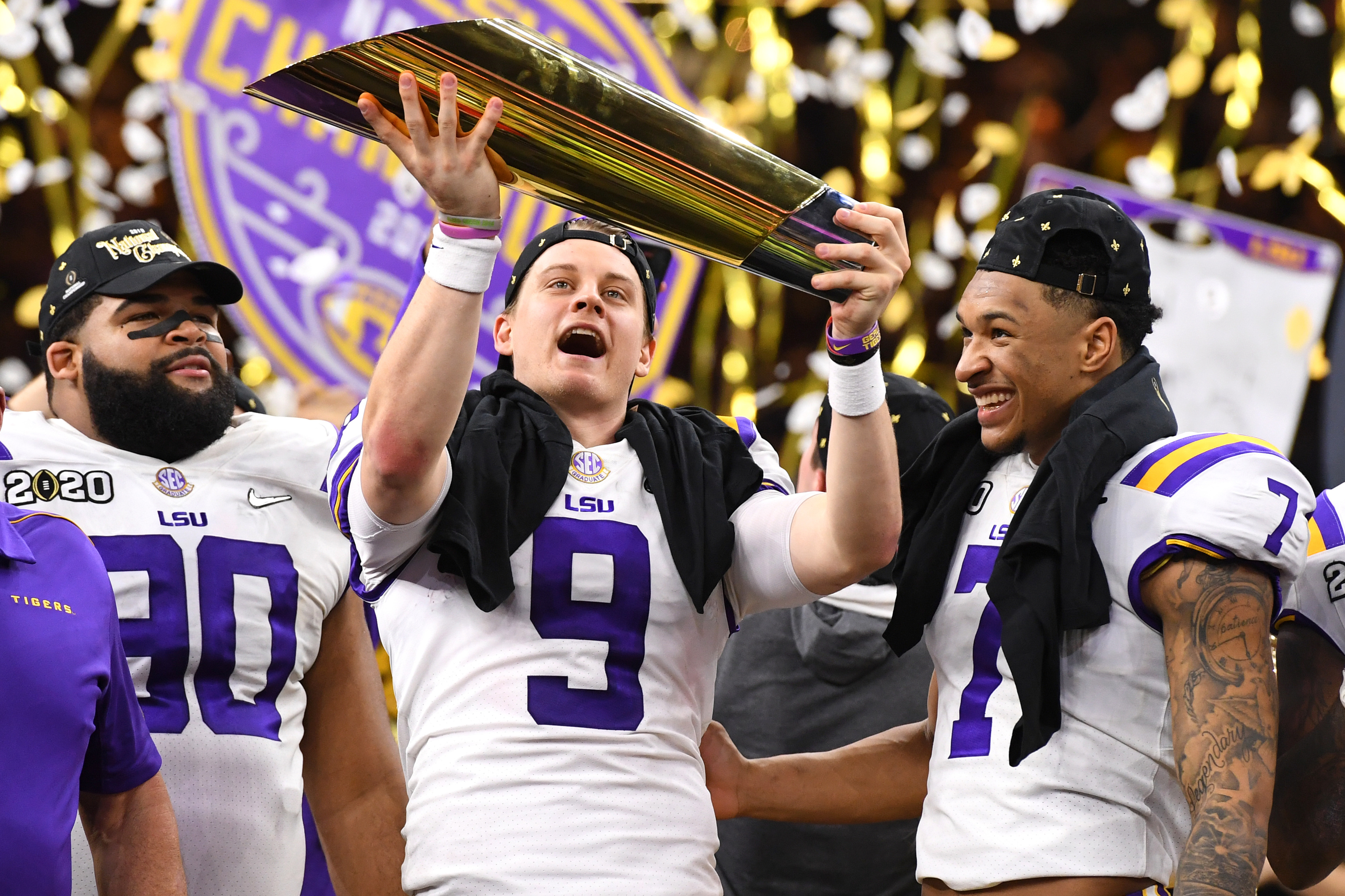 So what if Joe Burrow has tiny hands. They were big enough to carry LSU, Heisman