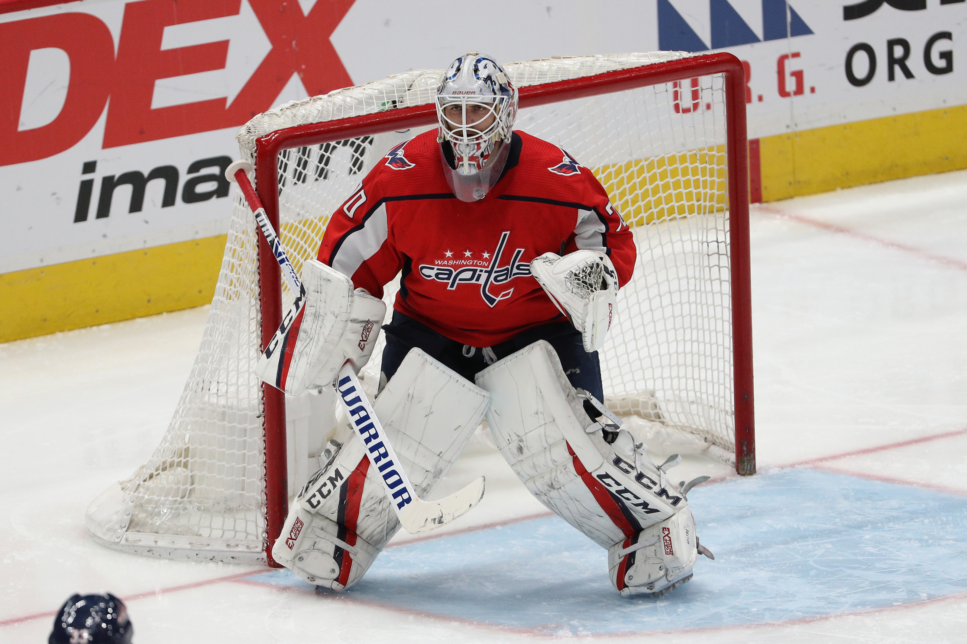 Washington Capitals Samsonov Injury Adds Pressure To Braden Holtby
