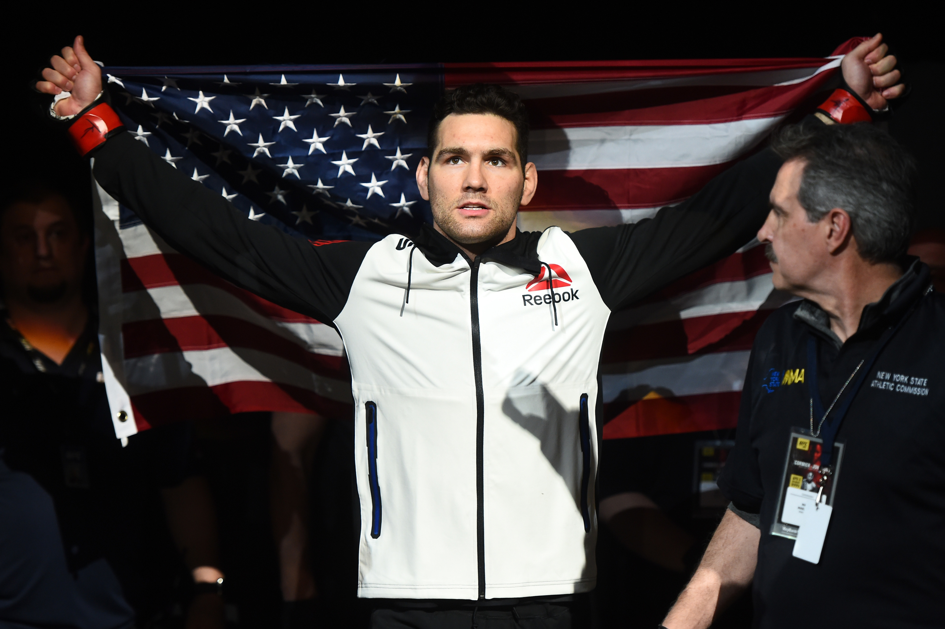 What exactly is the UFC doing with Chris Weidman?