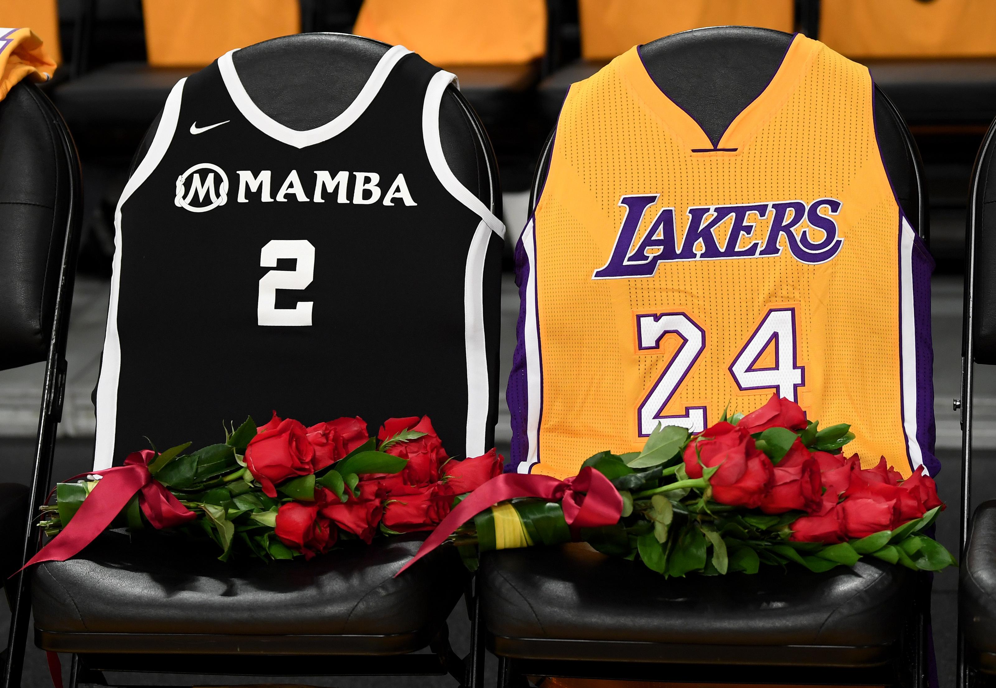 2020 NBA All-Star Game jerseys honor Kobe, Gianna Bryant, David Stern