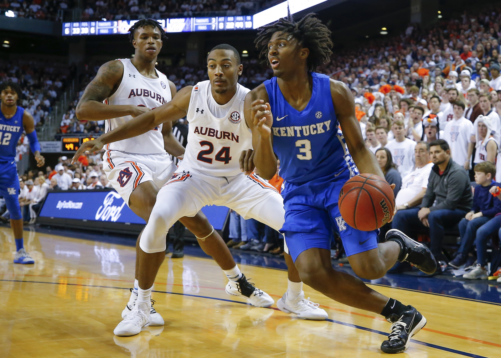 College basketball 5 best games of the week: Auburn-Kentucky rematch for SEC supremacy