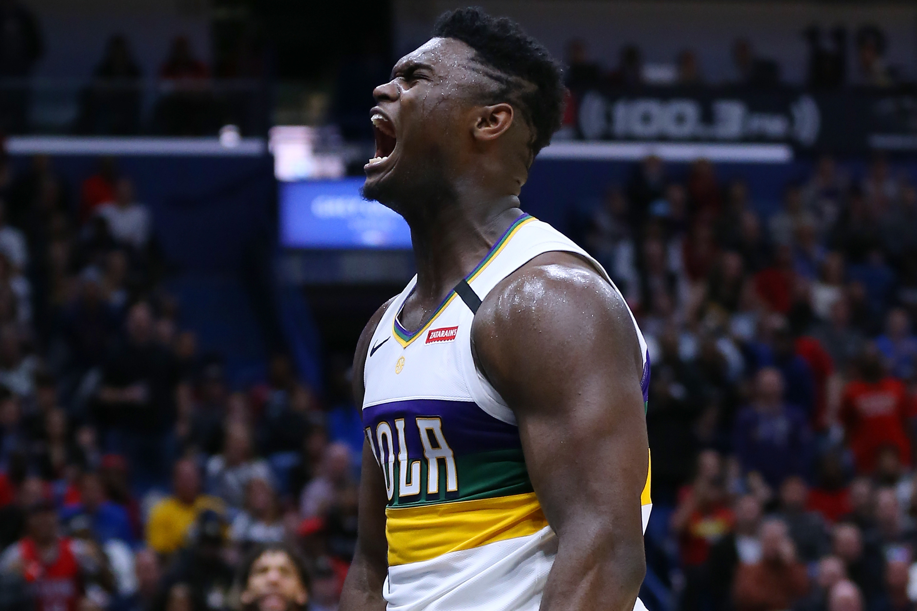 Zion Williamson is clearly becoming the next great NBA star