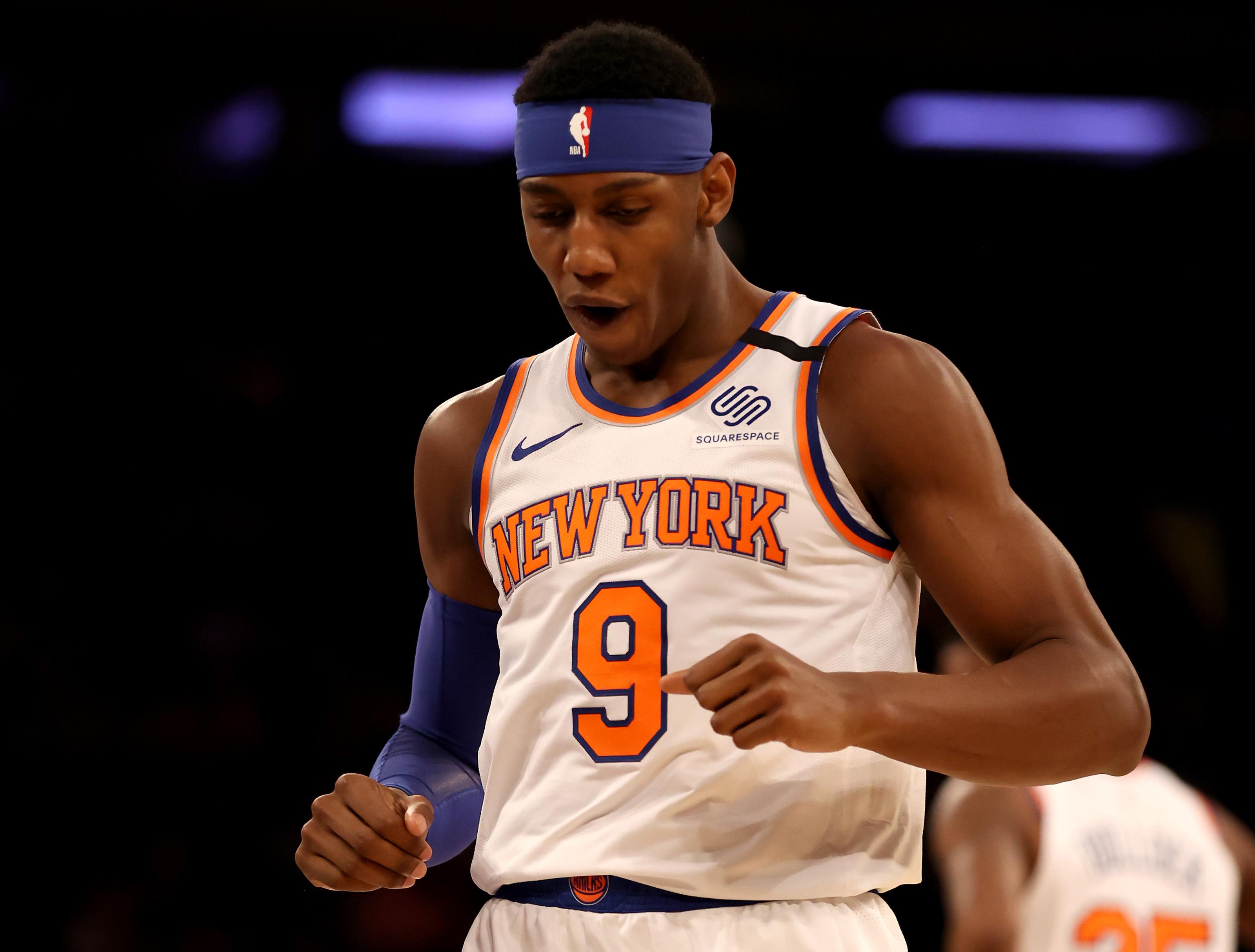 R.J. Barrett is the lone reason Knicks fans should hope