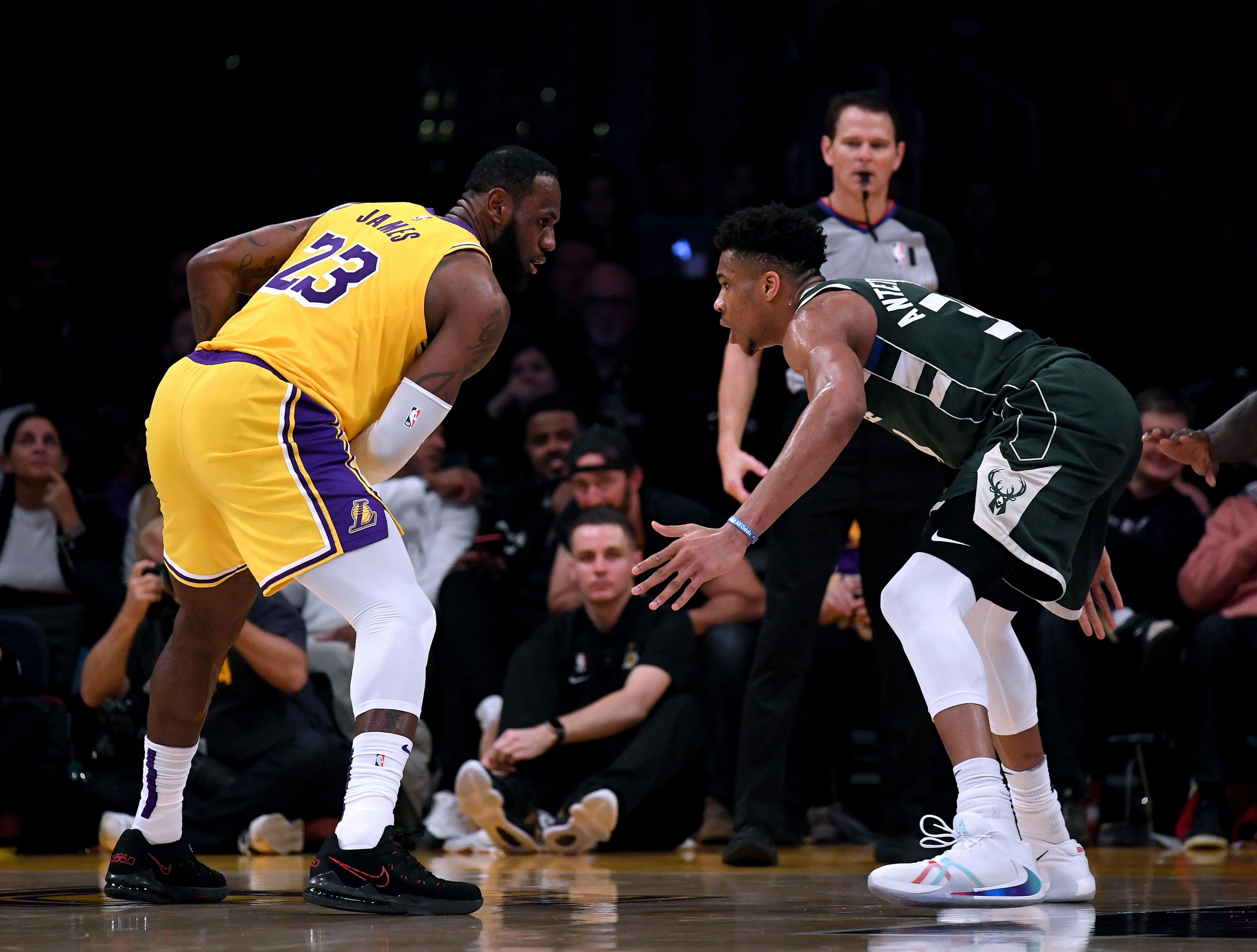 Imagining a potential Bucks-Lakers series in 2020 NBA Finals