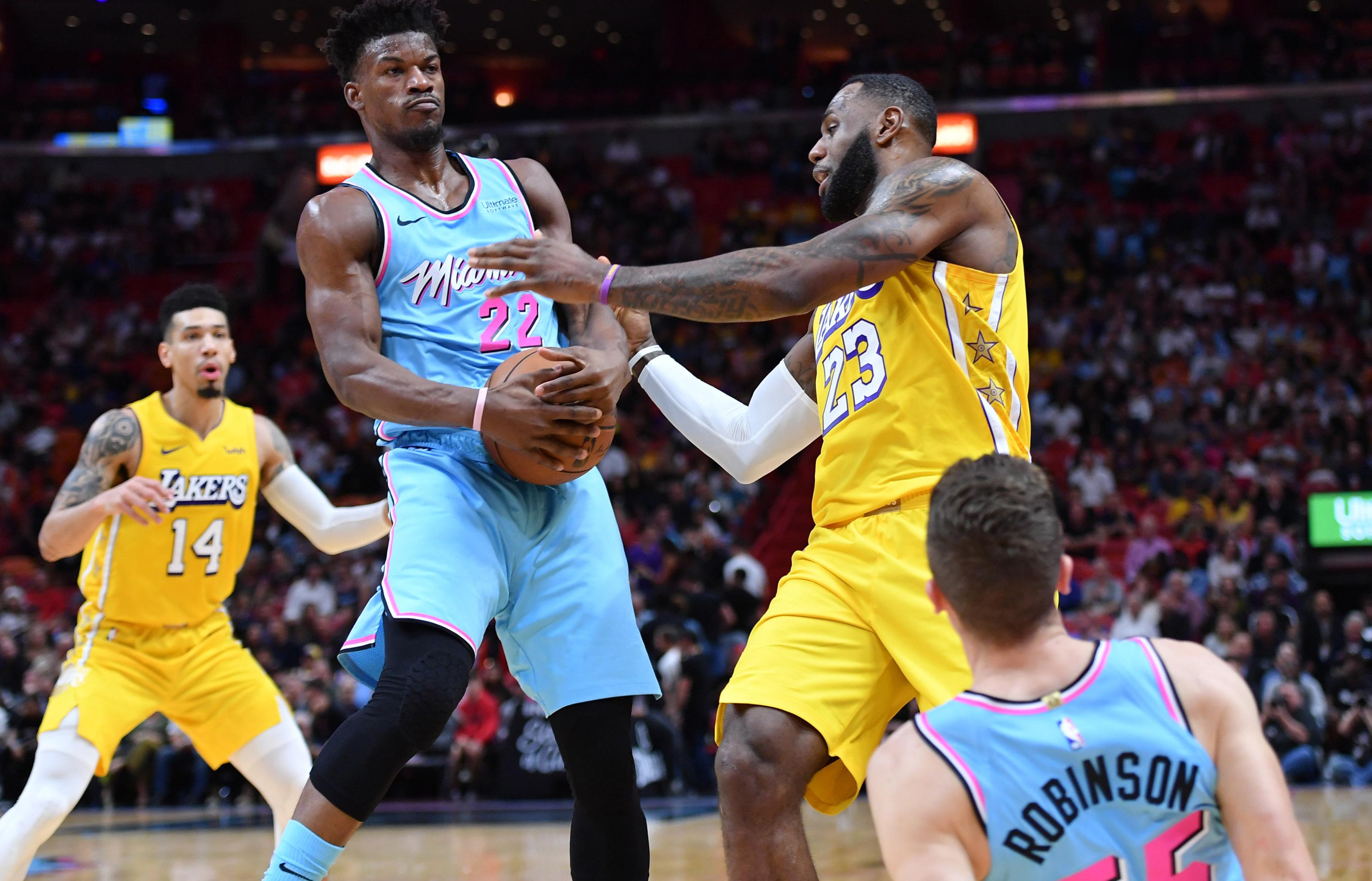 Lakers vs Heat NBA live stream reddit