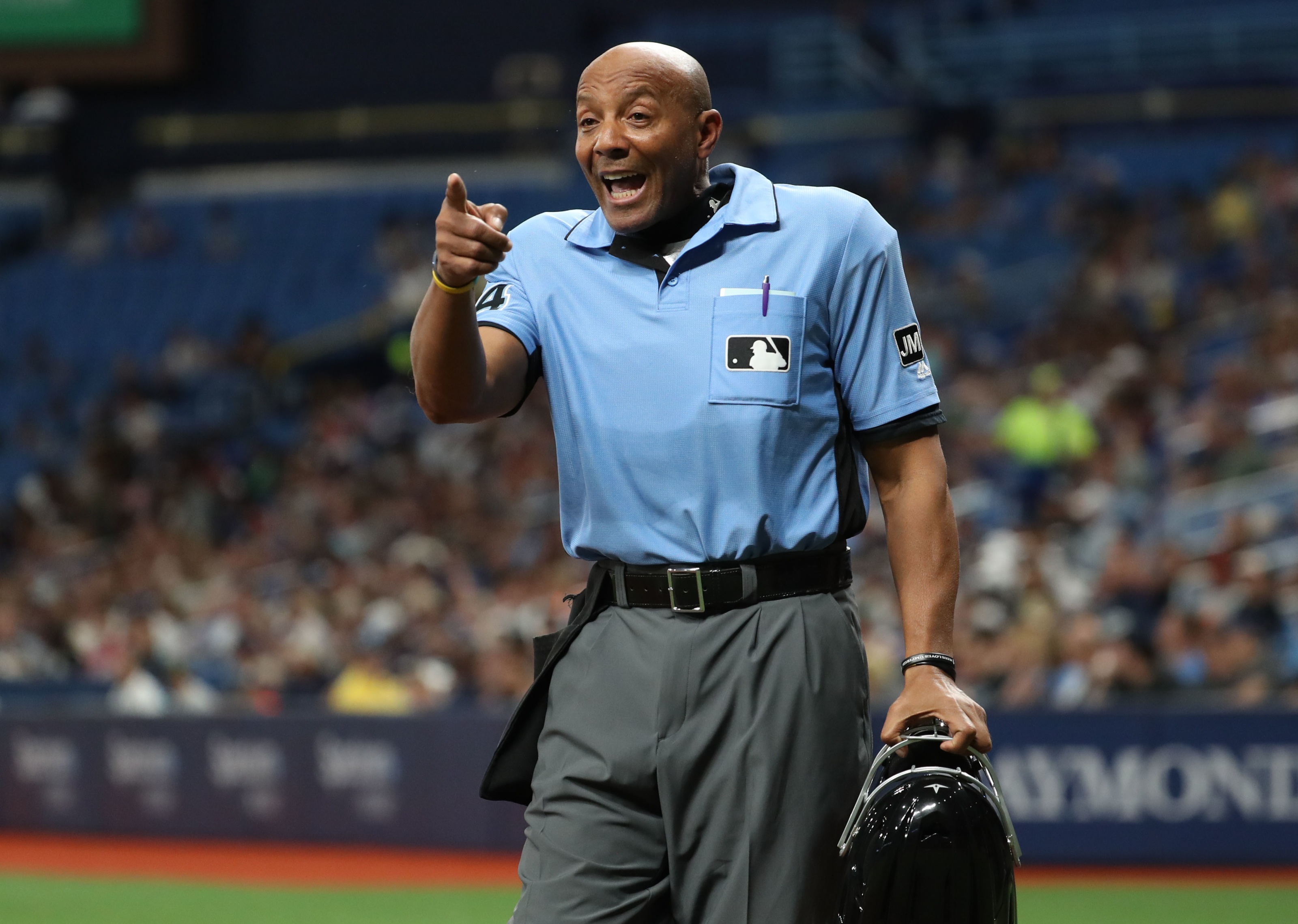 Yankees fans hate CB Bucknor more than the Tampa Bay Rays