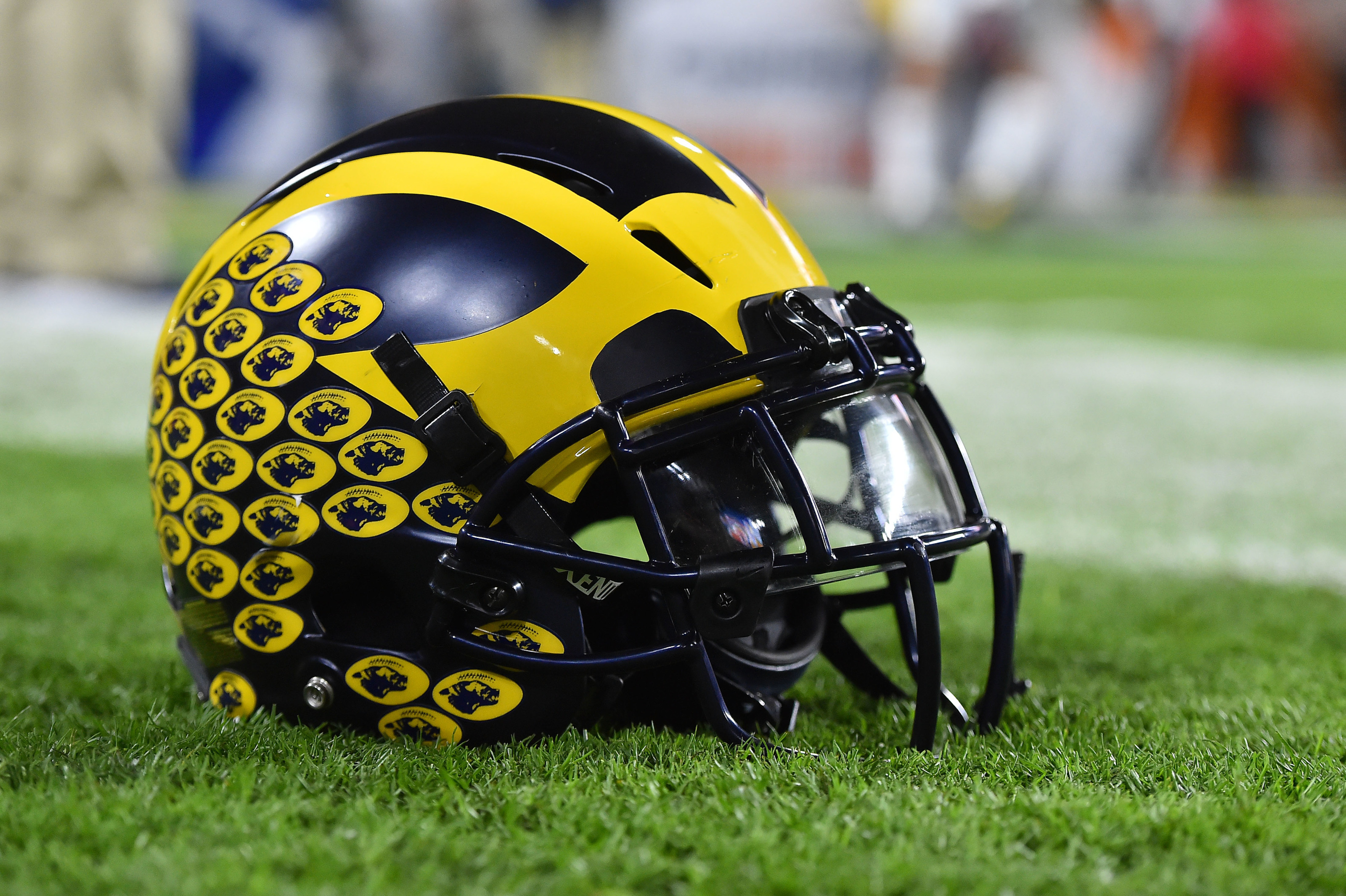 Michigan football helmets to include 'EQUALITY' decal with 6 raised fists  (Photo)
