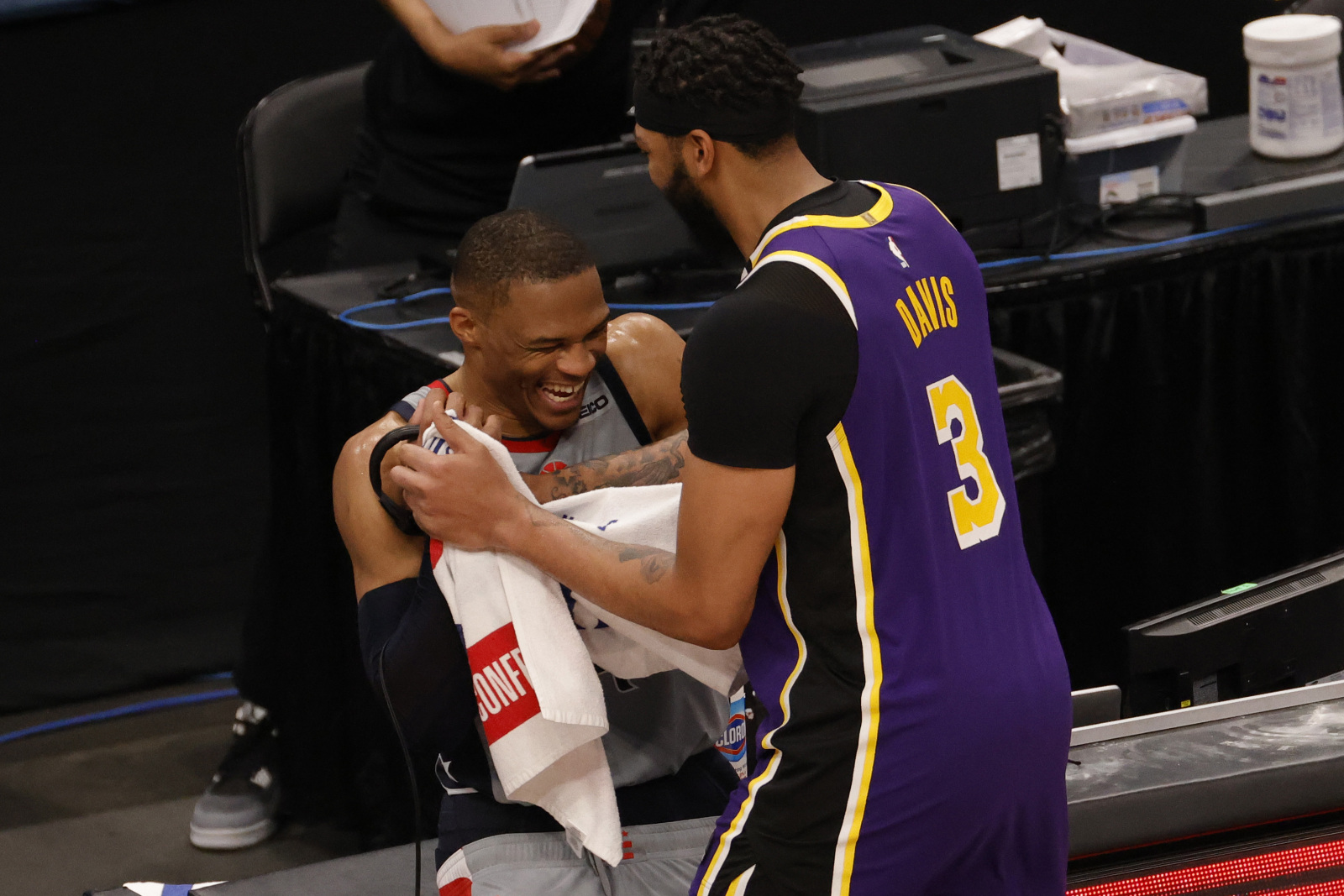 NBA Twitter goes wild over Russell Westbrook and Lakers trade rumors